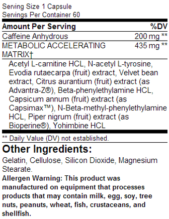 Lipocide ingredients