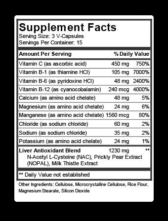 Pretoxx ingredients