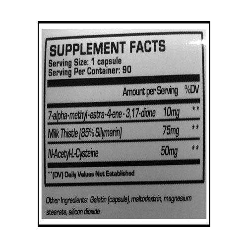 methyltren550ingredientlabel