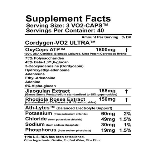 cordygenvo2ingredientlabel