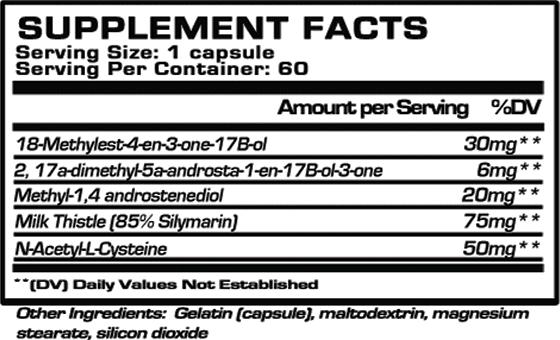 Decaplexx-850-Supplement-Facts