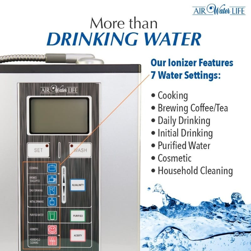 Aqua-ionizer Deluxe 9.0 Features