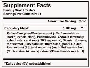 It Works Confianza Supplement Facts