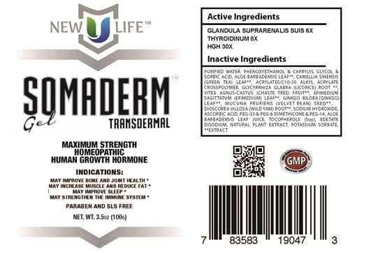 Somaderm HGH Gel Review: Can this be Your Key to a Youthful